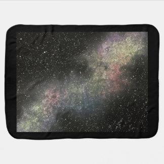 Cobertor De Bebe Cobertura do bebê da galáxia