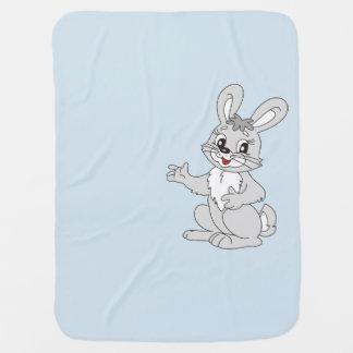 Cobertor De Bebe Cobertura do coelho do bebê