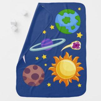 Cobertor De Bebe Cobertura do design de espaço