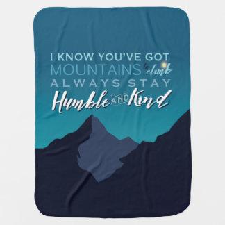 Cobertor De Bebe Cobertura masculino do bebê para o bebé
