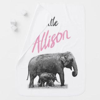"Cobertor De Bebe Cobertura personalizada ""Allison pequeno "" do bebé"