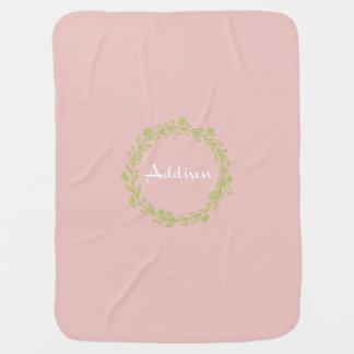 Cobertor De Bebe Cobertura personalizada do bebê