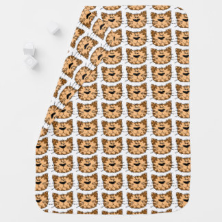 Cobertor De Bebe Cobertura selvagem do bebê do gato de tigre dos