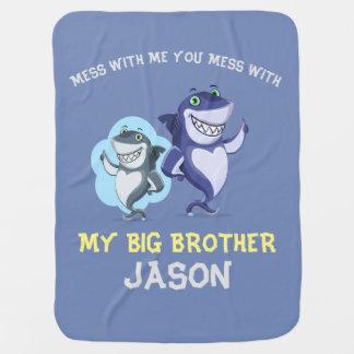 Cobertor De Bebe Confusão comigo design do big brother