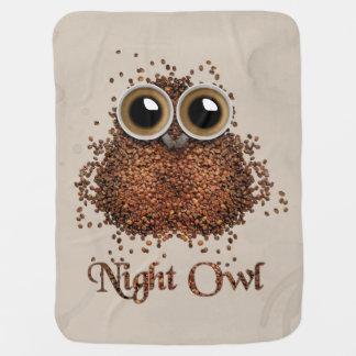Cobertor De Bebe Coruja de noite