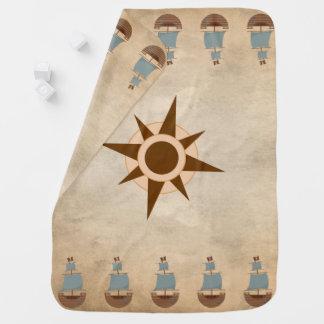 Cobertor De Bebe Decoração clássica do berçário do compasso do