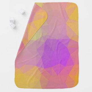 Cobertor De Bebe Design abstrato & elegante de Geo - chá de meteoro