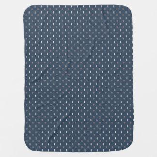 Cobertor De Bebe Design náutico original, presente perfeito!
