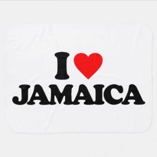 COBERTOR DE BEBE EU AMO JAMAICA