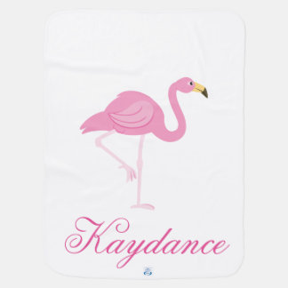 Cobertor De Bebe Flamingo & rosa e Paisley