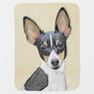 Cobertor De Bebe Fox Terrier (brinquedo)