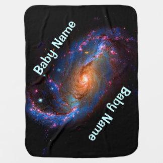 Cobertor De Bebe Galáxia espiral barrada NGC 1672
