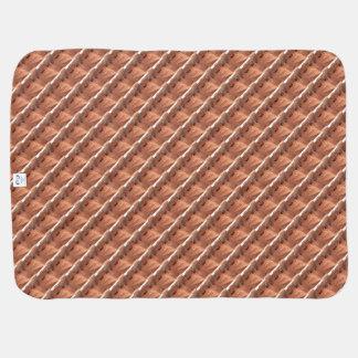 Cobertor De Bebe Garganta A do antílope da ARIZONA - cópia vermelha