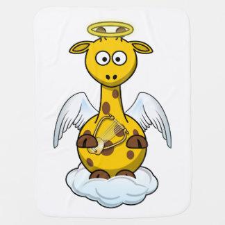 Cobertor De Bebe Girafa do anjo