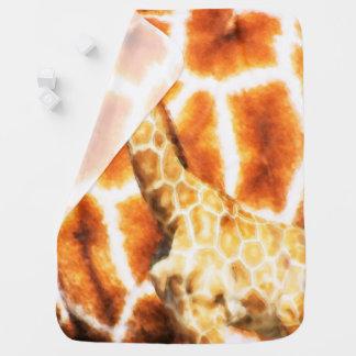 Cobertor De Bebe Girafa do bebê