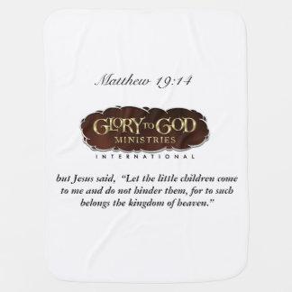 Cobertor De Bebe Glória à cobertura do bebê do deus