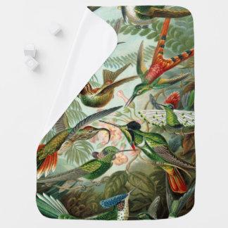 Cobertor De Bebe Impressão da arte de Ernst Haeckel: Trochilidae
