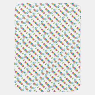 Cobertor De Bebe Lagartas coloridas