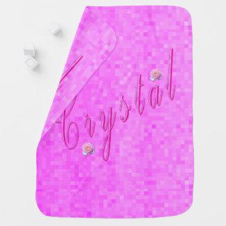 Cobertor De Bebe Logotipo conhecido das meninas de cristal,