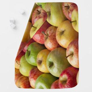 Cobertor De Bebe Maçãs - maduras & coloridas