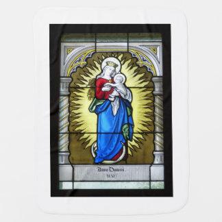 Cobertor De Bebe Mãe Mary - mãe do deus