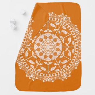 Cobertor De Bebe Mandala do tarte de abóbora
