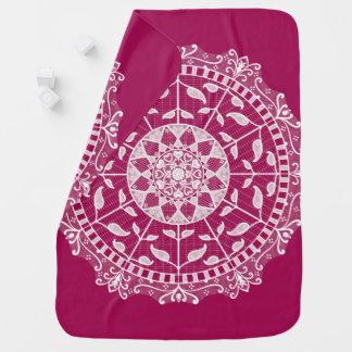 Cobertor De Bebe Mandala do vinho