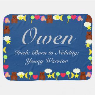 Cobertor De Bebe Modelo da cobertura do bebê de Owen