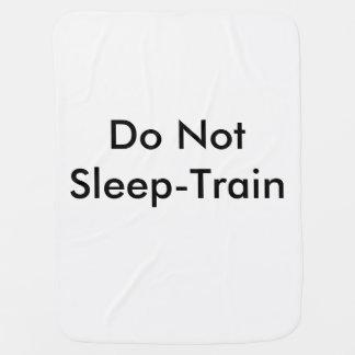 Cobertor De Bebe Não dorme o trem