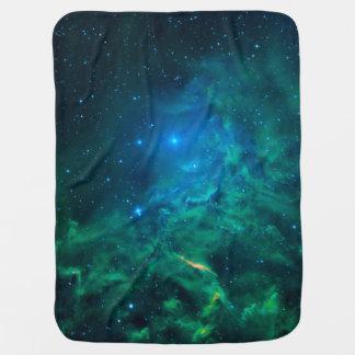 Cobertor De Bebe Nebulosa flamejante da estrela