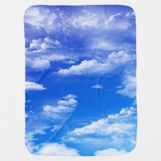 Cobertor De Bebe Nuvens