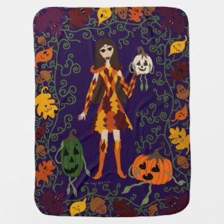 Cobertor De Bebe País das fadas do outono
