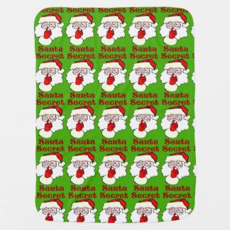 Cobertor De Bebe Papai noel secreto no Natal