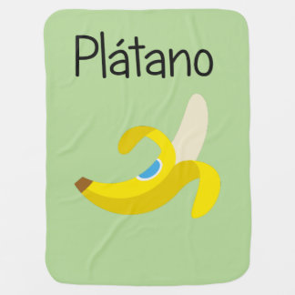 Cobertor De Bebe Platano (banana)