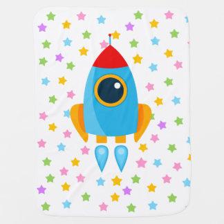 Cobertor De Bebe Rocket bonito