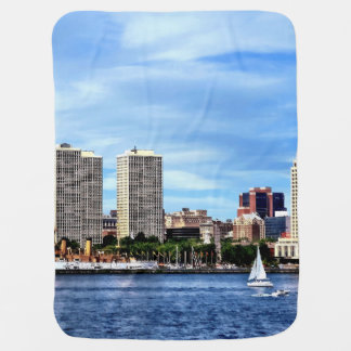 Cobertor De Bebe Skyline do Pa de Philadelphfia