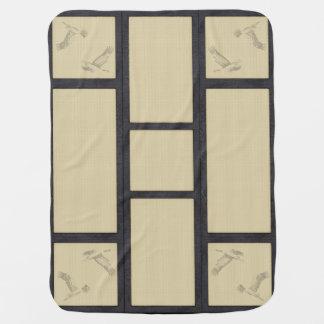 Cobertor De Bebe tatami - crane