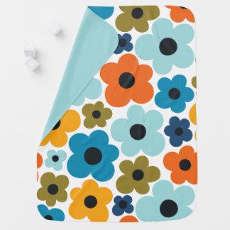 Cobertor De Bebe Teste padrão de flower power