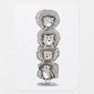 Cobertor De Bebe Totem dos ouriços