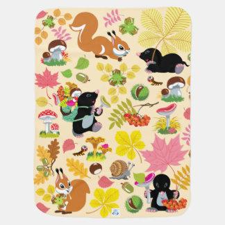 Cobertor De Bebe toupeira dos desenhos animados