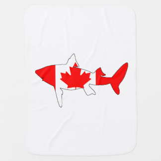 Cobertor De Bebe Tubarão Canadá