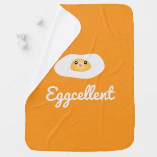 Cobertor De Bebe Unisex cómico de Eggcellent do ovo bonito