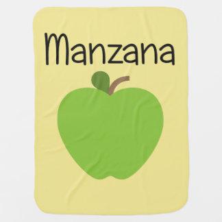 Cobertor De Bebe Verde de Manzana (Apple)