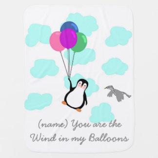 Cobertor De Bebe Você é o vento em minha cobertura do bebê dos