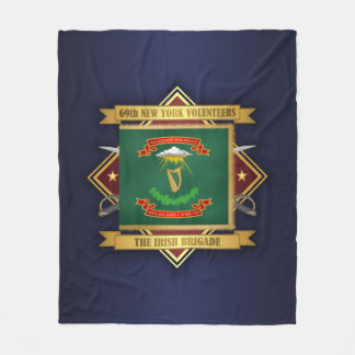 Cobertor De Velo 69th Infantaria voluntária de New York