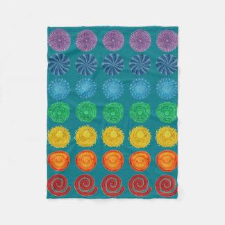 Cobertor De Velo 7 cores do arco-íris de Chakras #1