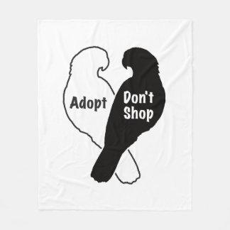 Cobertor De Velo A adopção do salvamento do papagaio não compra
