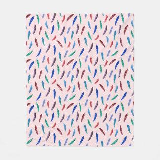 Cobertor De Velo A aguarela empluma-se a cobertura média do velo