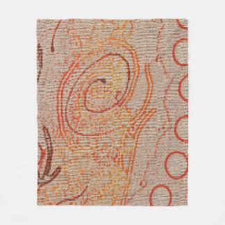 Cobertor De Velo A areia ecoa a cobertura do velo da coleção #2