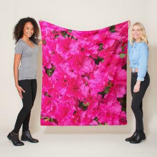 Cobertor De Velo A azálea cor-de-rosa floresce floral